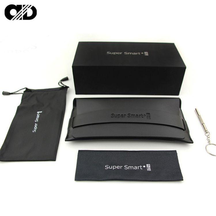新款皮质V牌眼镜盒韩国GM太阳眼镜盒女镜盒抗压墨镜盒批发可定制