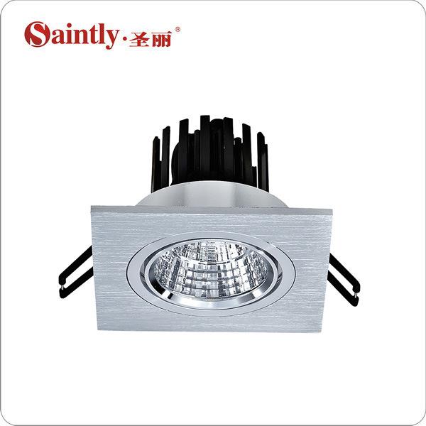 led平板格栅灯 调角射灯 嵌入式 单头方形 COB光源 5W 可定做