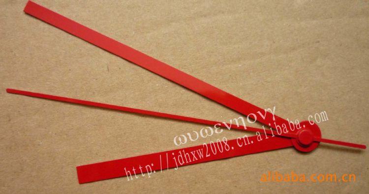 红色钟表指针,钟表针,DIY钟表配件,无框画配件