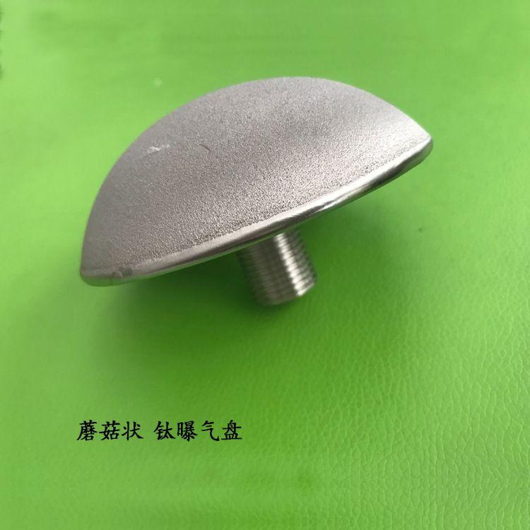 球型钛合金微孔曝气盘φ150 蘑菇头钛曝气头臭氧专用微孔曝气装置
