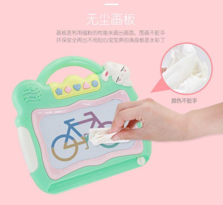 新款绘画玩具 多功能磁性儿童早教画板写字涂鸦绘画工具套装