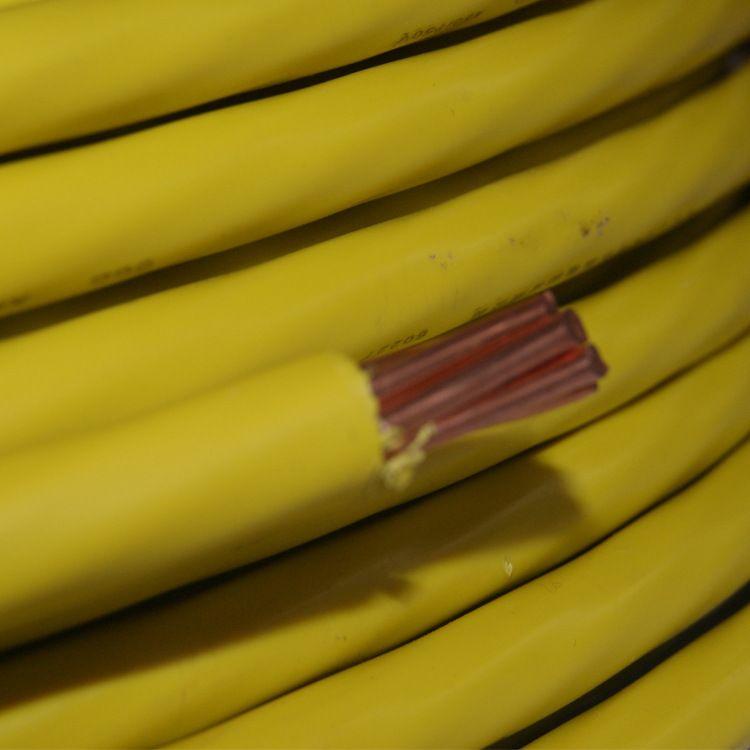 廠家生產單芯電線 國標銅芯BV70平方家裝電線銅芯線永久安信