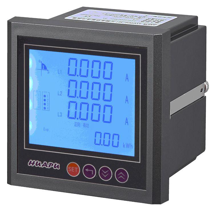 HP192E-2XY液晶LCD三相多功能电力仪表120x120