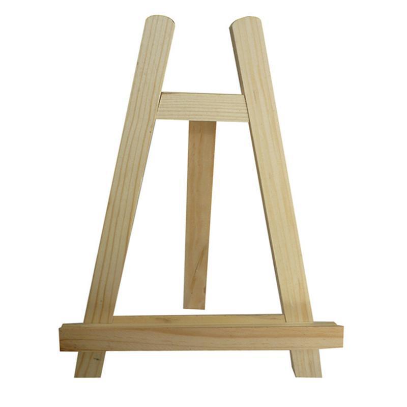 迷你木制小画架,三角架懒人平板手机支架,20*28儿童微型桌面架