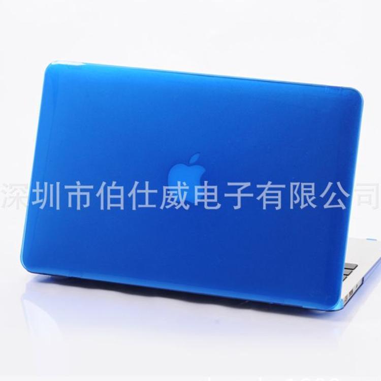mac book内外光面喷油彩绘水贴水转印电镀镭雕热转印单底PC水晶壳