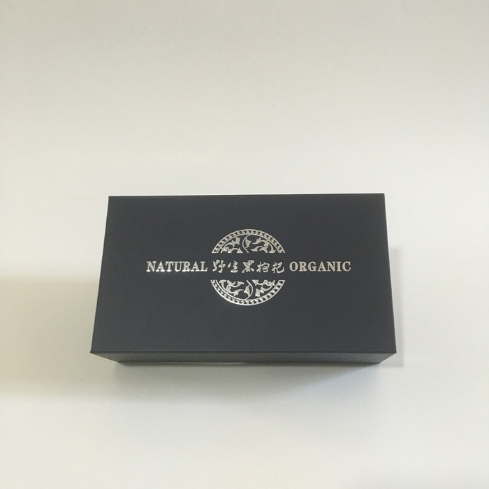 直销批发黑枸杞双瓶礼品盒 黑枸杞包装盒 单盒双瓶药材礼盒定做