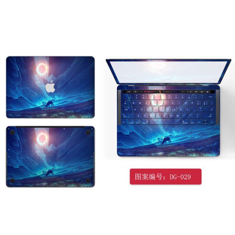 适用苹果Mac笔记本Macbookair贴膜pro外壳膜13.3贴纸11保护膜12寸