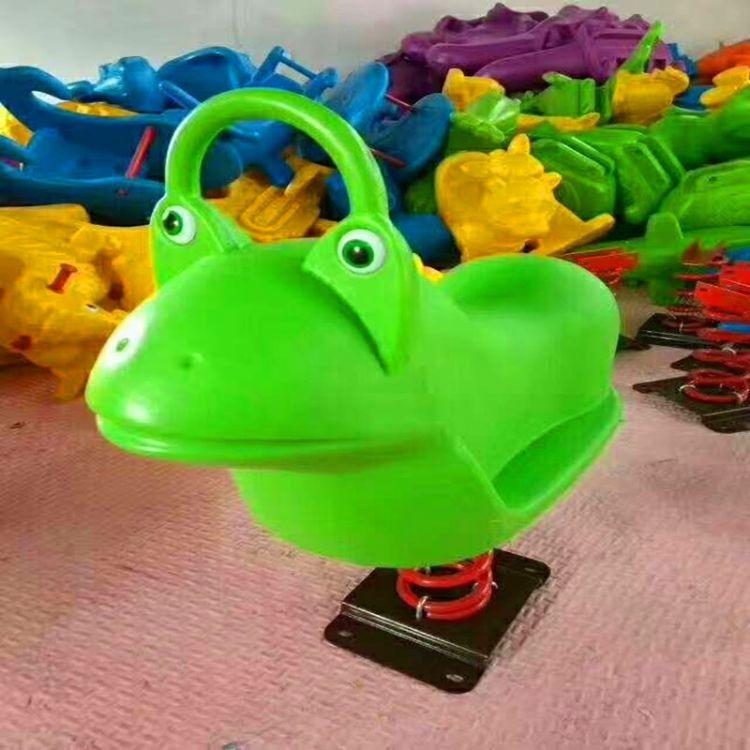 幼儿园户外公园小区游乐设施儿童摇马摇摇乐固定弹簧单人双人木马