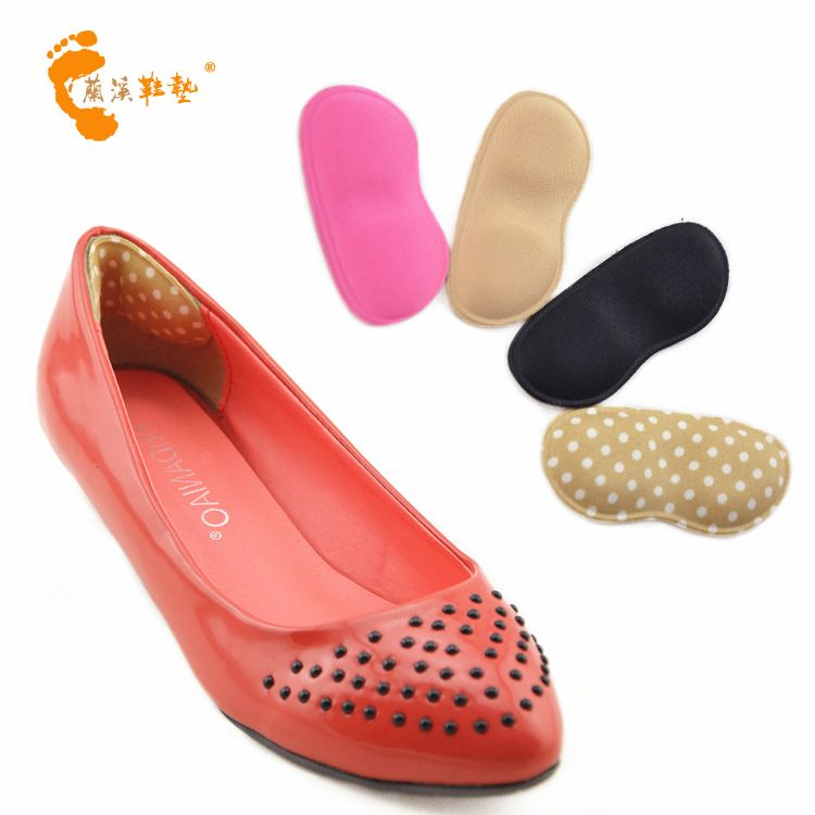 厂家直销 海绵按摩后跟贴 布后贴 高跟鞋防滑贴 防磨脚 改善尺码