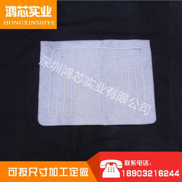 厂家直销硅胶高温线理疗保健加热片保健毯电披肩无极控温加工定制