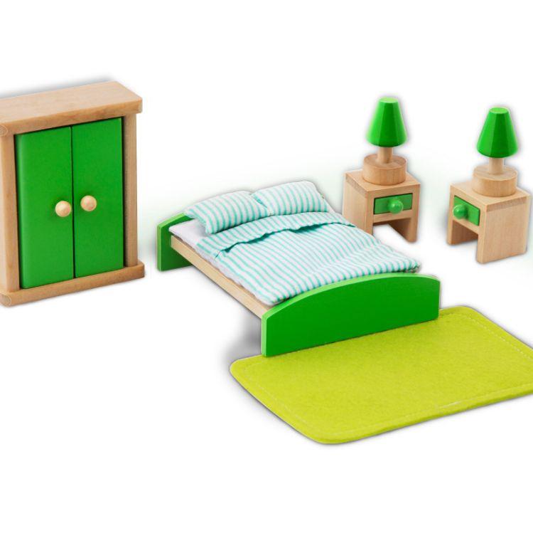木制仿真小家具过家家玩具DIY房屋角色扮演房屋摆设家具厂家直销