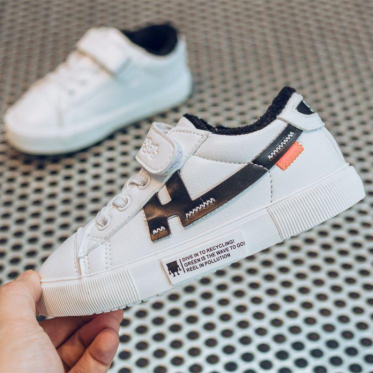 童鞋棉鞋2018冬季新款韩版学生款休闲鞋加绒鞋一件代发
