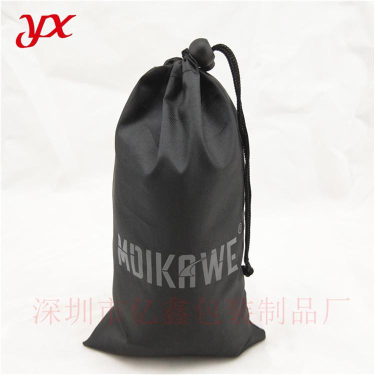 210黑色牛津布袋  拉绳牛津布袋定做 双肩牛津布袋定制 印logo