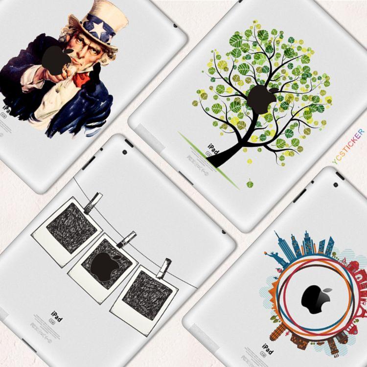 苹果平板贴纸iPad局部贴纸彩色Pro Mini膜炫彩贴创意个性贴Air 16