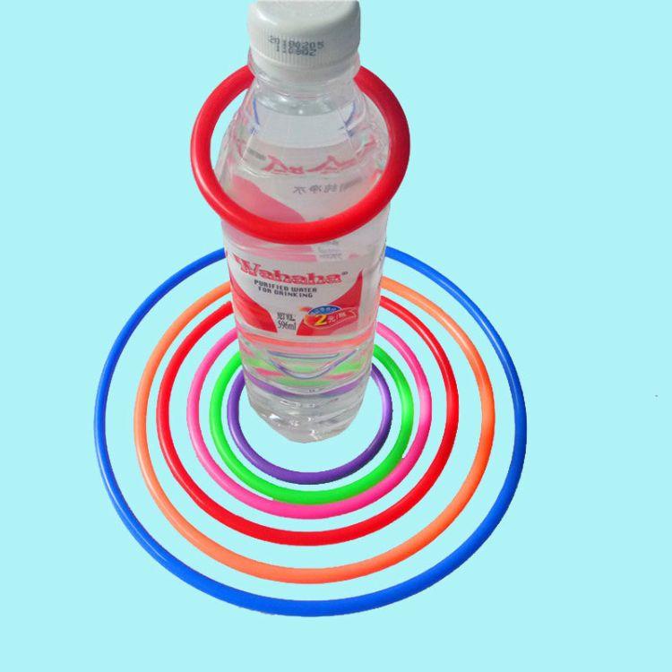 厂家直销 加粗地摊投掷套圈圈的圈 塑料圈 套圈 尺寸齐全