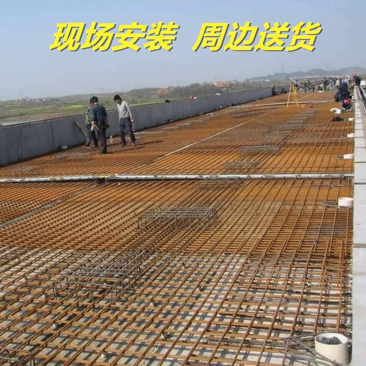 厂销多种网孔尺寸 冷-热镀锌等材质钢筋网片 10*10cm 1*2 2*4米