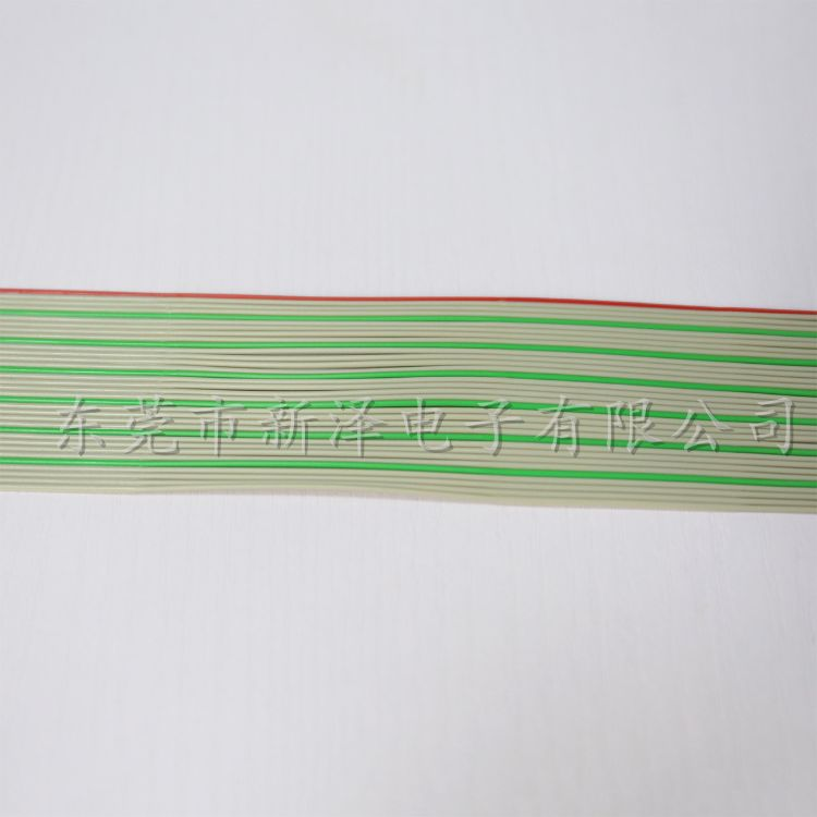 OKI彩排线 分线34P排线 灰排线 彩排线 彩色排线 红灰绿排线34P