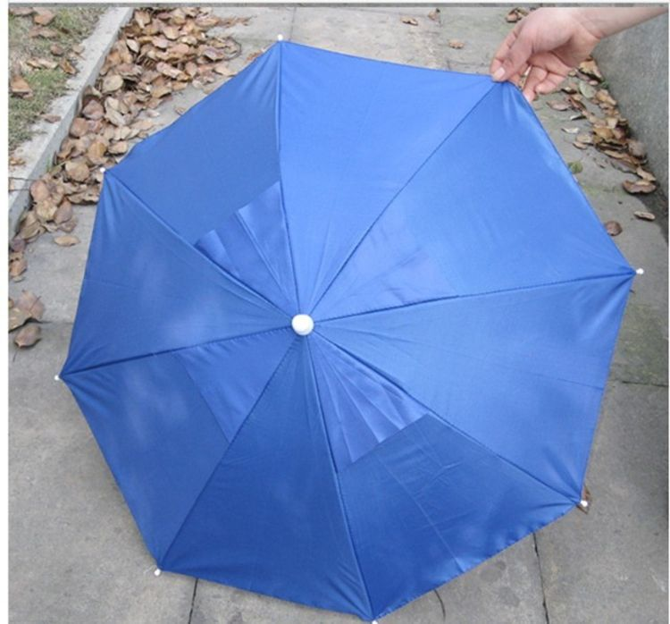 中号31公分透气孔定制广告银胶帽伞
