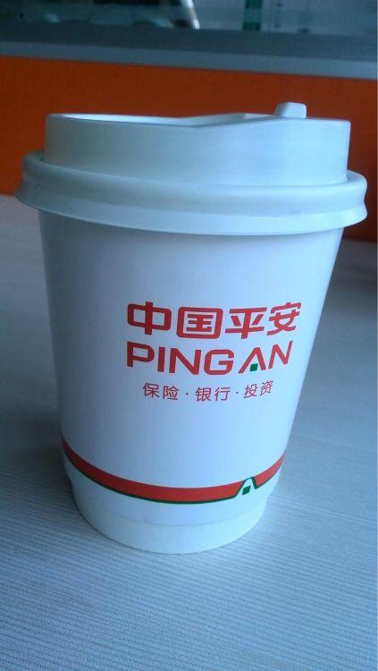 一次性纸杯定制 双层杯 咖啡杯定制