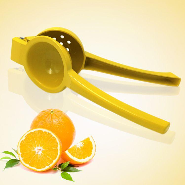 现货小号柠檬榨汁器 铝制压汁器 手动柠檬夹批发 多功能压汁器
