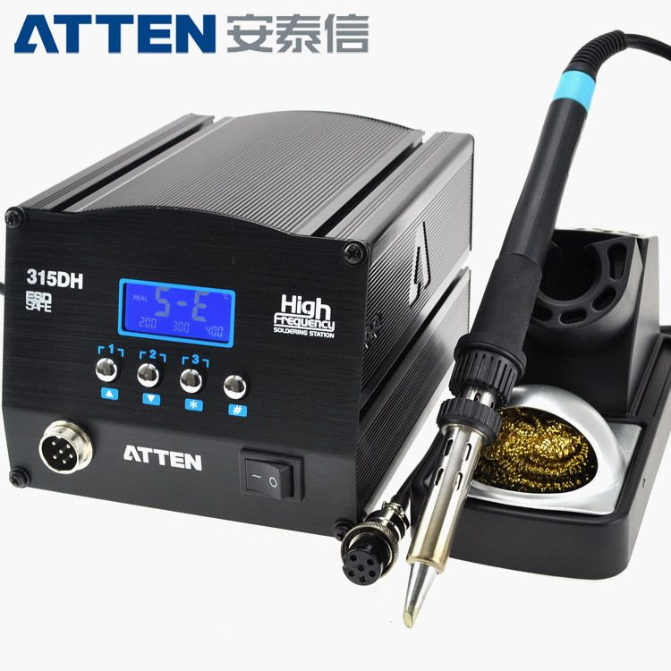 原装安泰信150W大功率烙铁 高频数显电焊台AT315DH 拆焊台