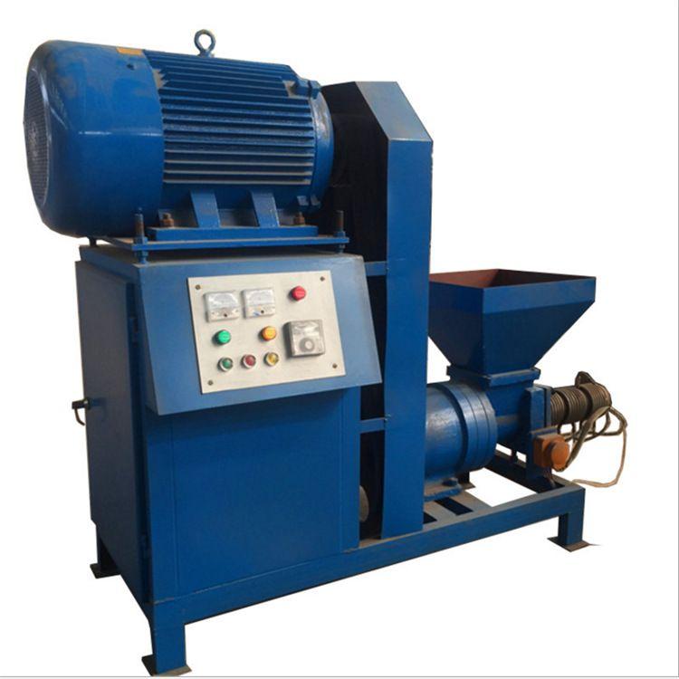 木炭粉制棒机 木炭机生产线全套设备 腾航机械果木制炭机