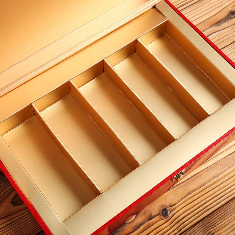 高档岩茶空礼盒摆泡装包装盒半斤一斤通用绿红茶叶精装盒厂家定制