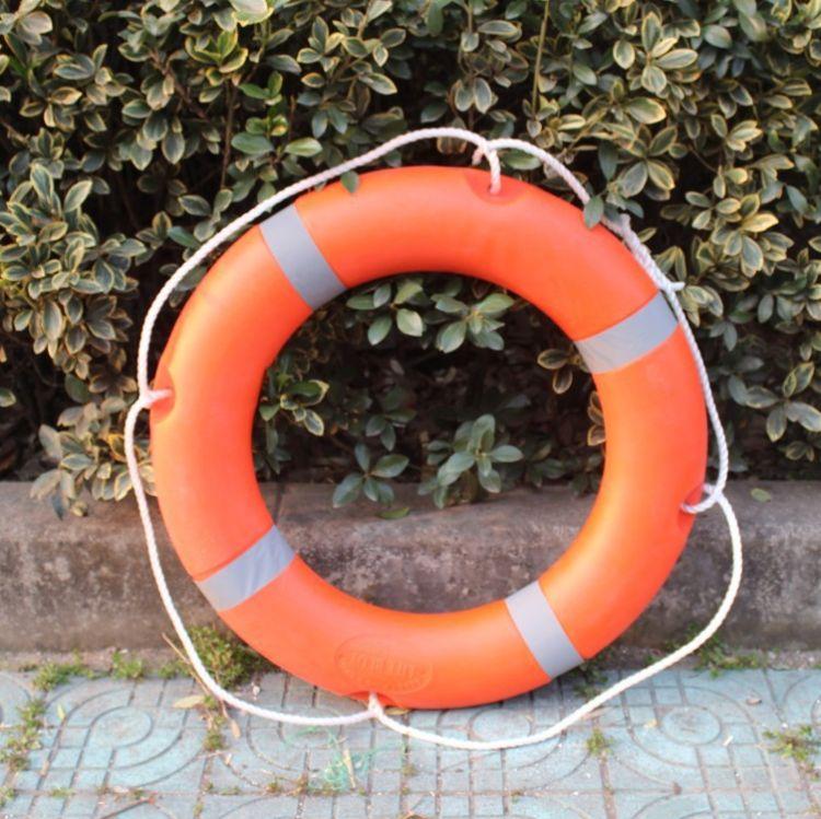 塑料海事救生圈 成人救生圈 专业潜浮水圈设备船用救生圈
