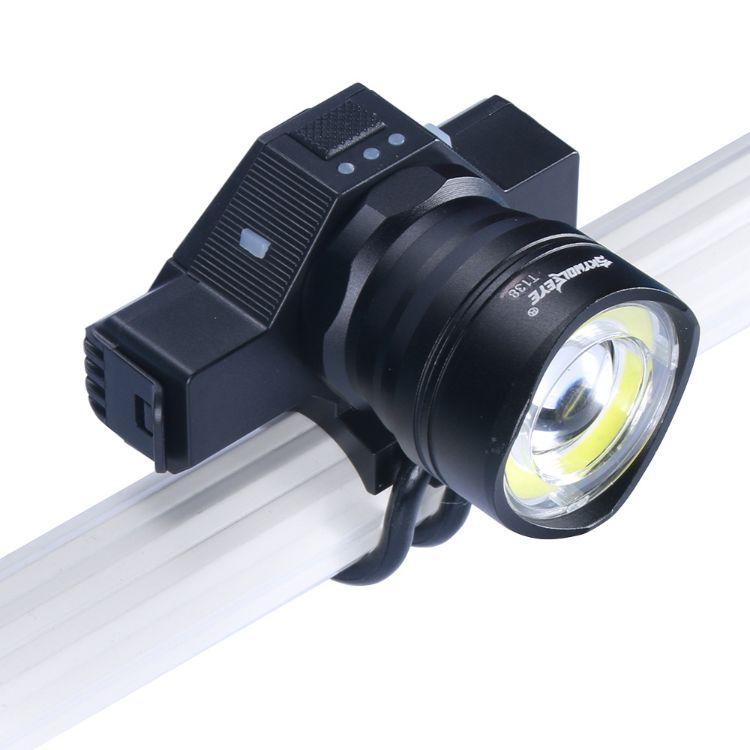 厂家直销skywolfeyeUSB充电自行车灯 批发COB车前灯LED夜骑警示灯