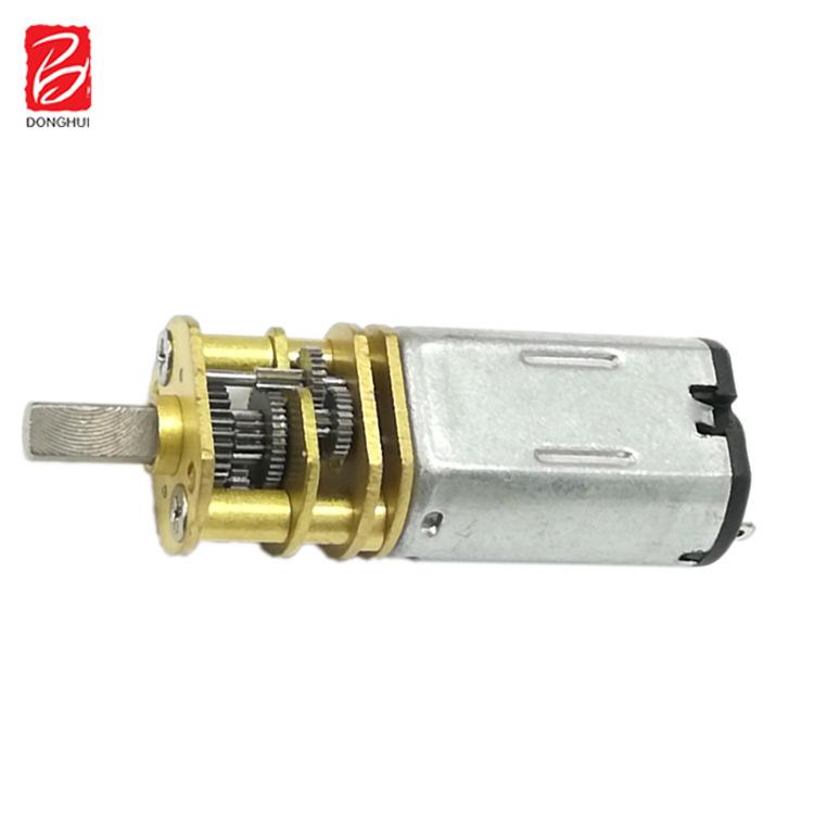 减速电机厂家专业生产10mm 直径M20金属齿轮小型减速电机