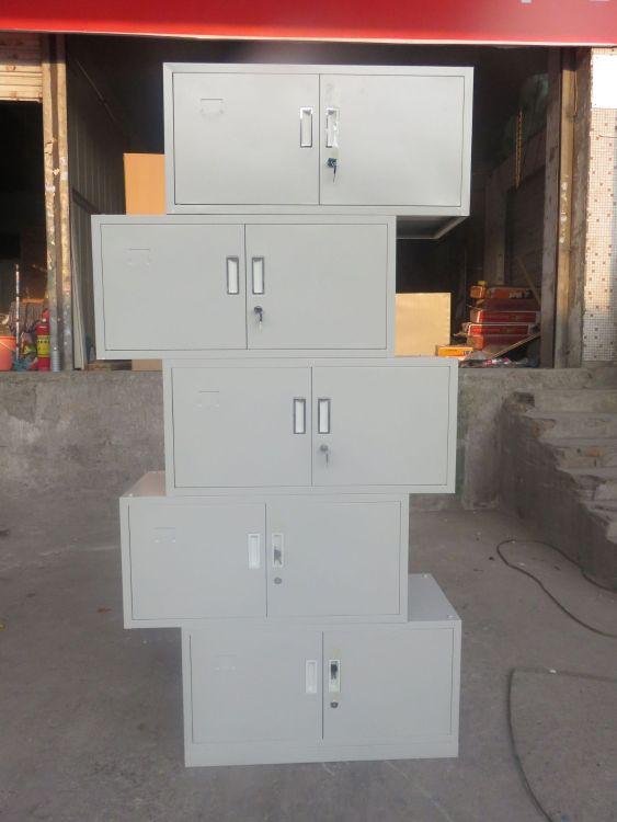 双武厂家新款五节文件柜钢制多层铁皮资料柜