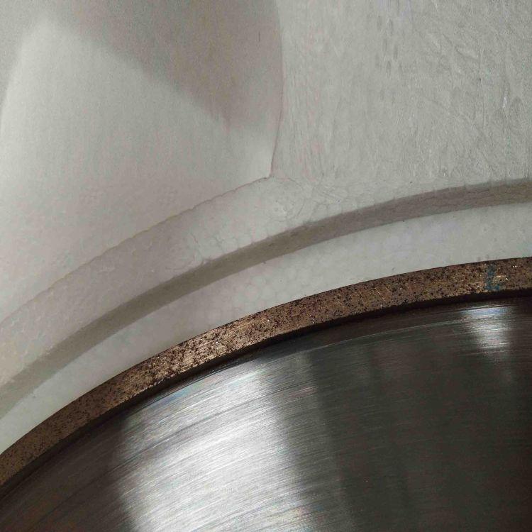 抛光机青铜结合剂金刚石砂轮 青铜金刚石砂轮 1A1 320*20*5*5