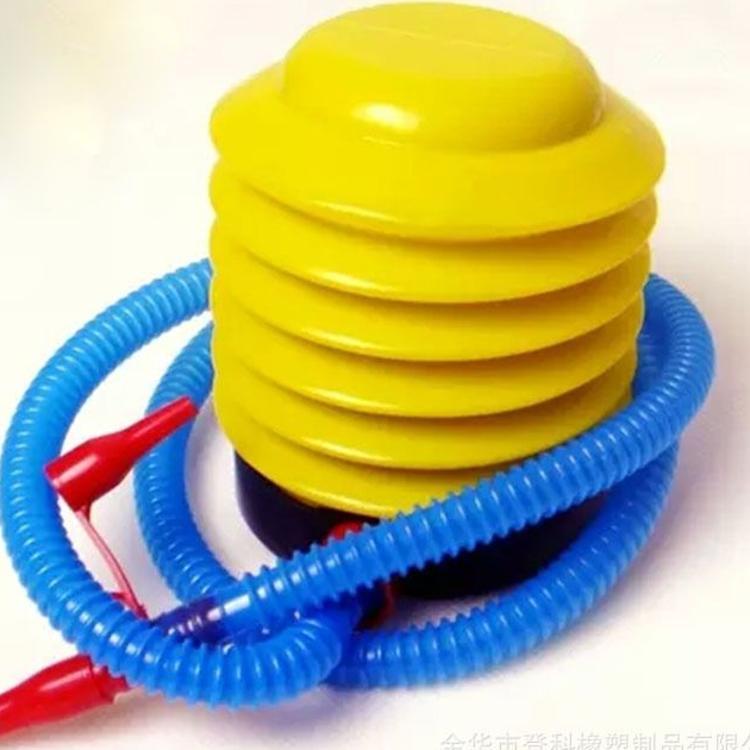 厂销瑜伽球脚踏打气筒跳跳马瑜伽球专用打气筒脚踩不费力万能气泵