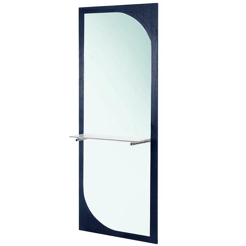 简约欧式美发壁镜/单面美发镜子/ 发廊镜子剪发镜台/全身镜5013