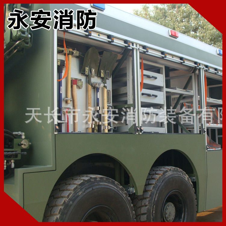 厂家改装 6吨消防车 泡沫滑行消防车