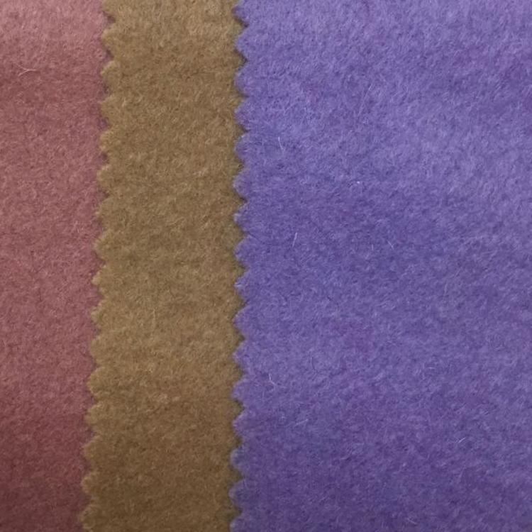 厂价直销 F1068 现货供应全毛单面顺毛时尚毛呢服装羊绒呢绒面料