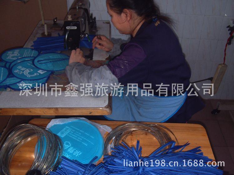 尼龙折叠扇飞盘飞碟定做涤沦飞盘出口日本慢回弹折叠扇尼龙掌中扇