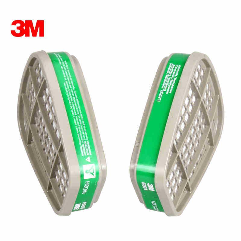 3M 6004CN 氨气及甲胺气体滤毒盒 60个/箱