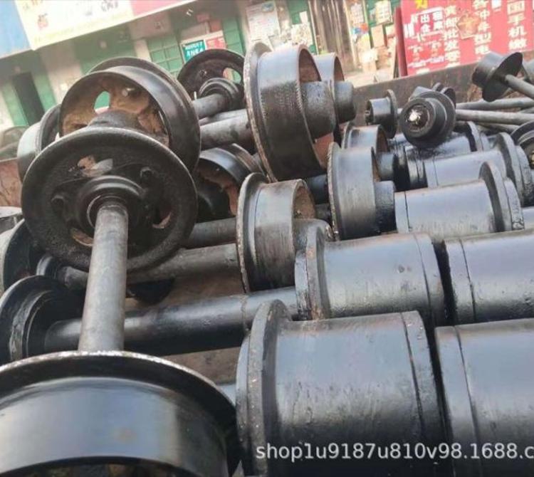 滏金金属制造厂家直营轨道轮 矿车轮 铸钢矿车轮 加工定制