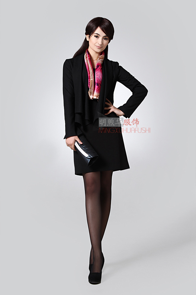 女时尚职业装  制服  办公室服装