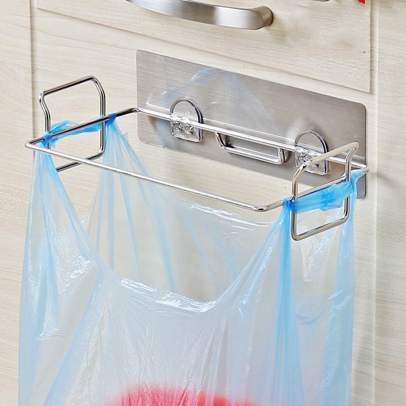 挂壁挂墙垃圾桶家用厨房卫生间手提壁挂垃圾架无盖塑料袋收纳整理