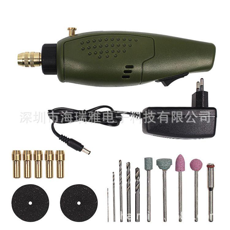 跨境施力特P500-10迷你小电磨微型手电钻打磨打孔钻眼抛光打磨机