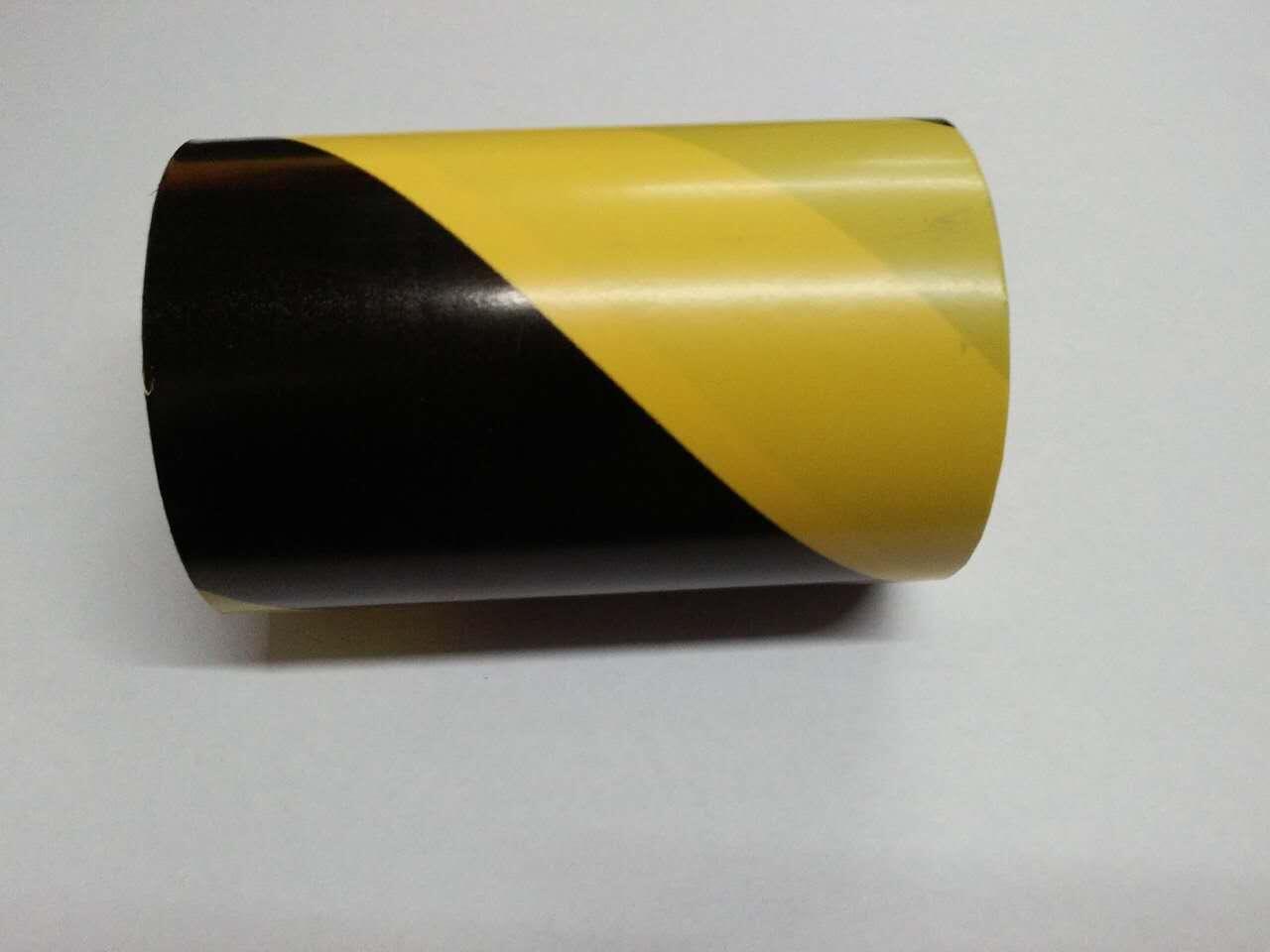 厂家销售PVC黄黑双色警示胶带.规格齐全