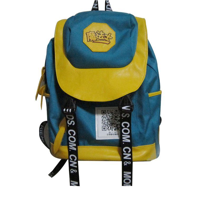 厂家供应订制时尚韩版双肩包 外贸多功能多隔层大容量防水背包