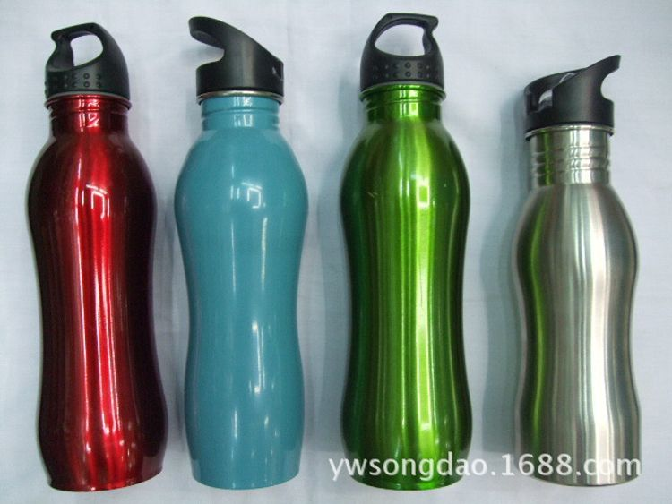 厂家供应不锈钢运动水壶  单车水壶  运动水杯