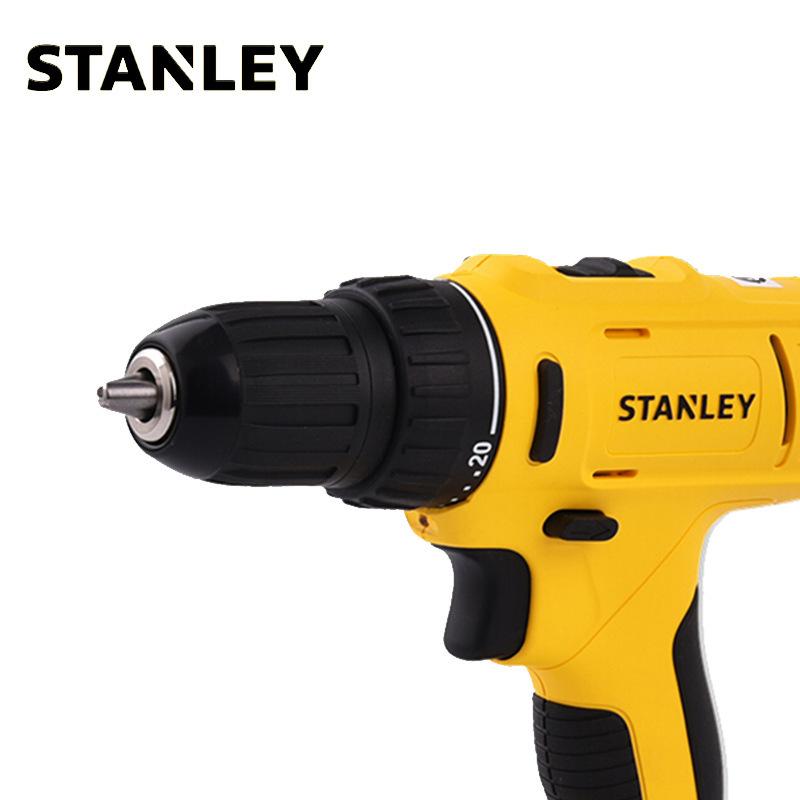 史丹利10.8V 锂电充电式冲击电钻起子 冲击钻冲击起子 SCH12S2K