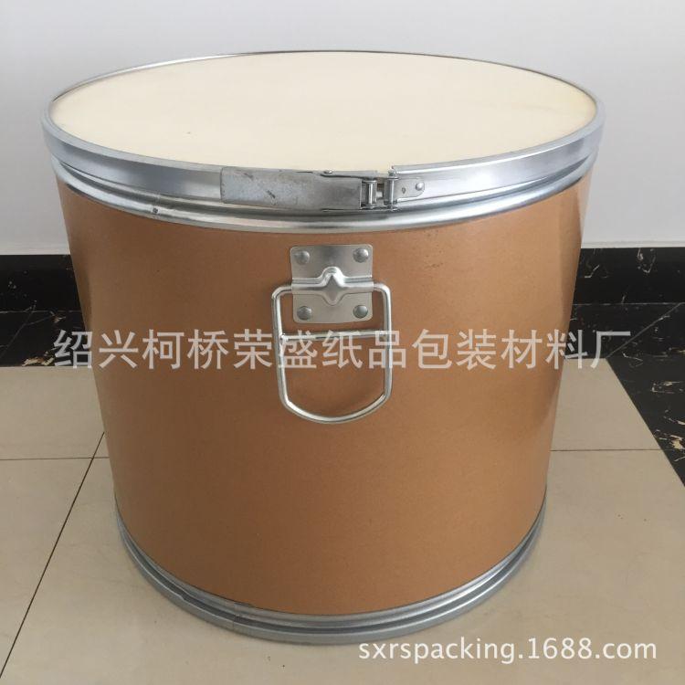 出口专用合金丝焊丝拉手桶 拉手纸板桶 环保牛皮纸板桶