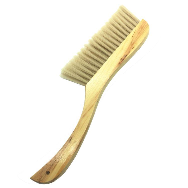 扫床刷手动 木柄仿猪鬃床刷 木质除尘刷 卧室家用软毛清洁刷