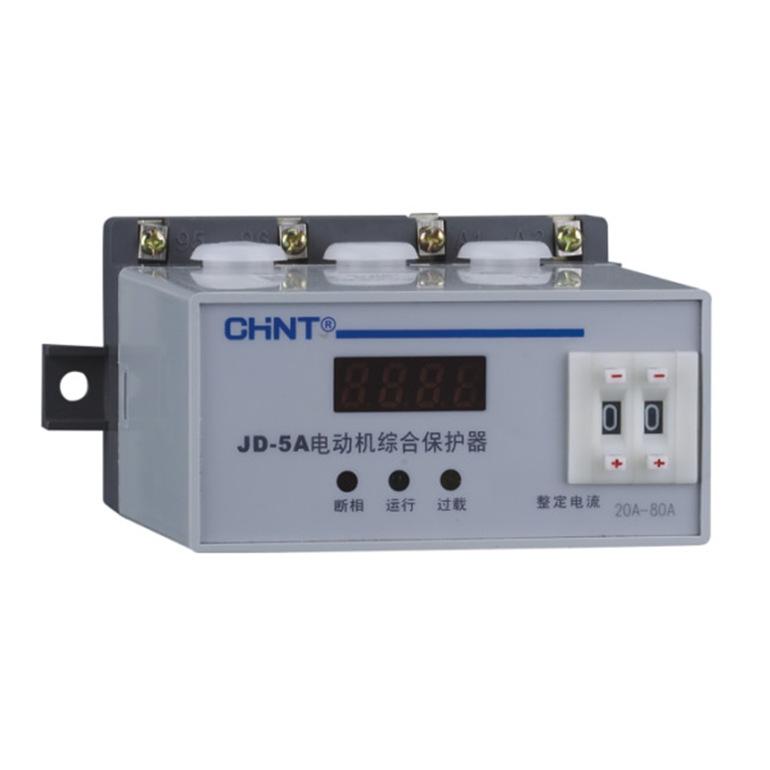 正品正泰电动机综合保护器 JD-5A  20~80A电机保护器