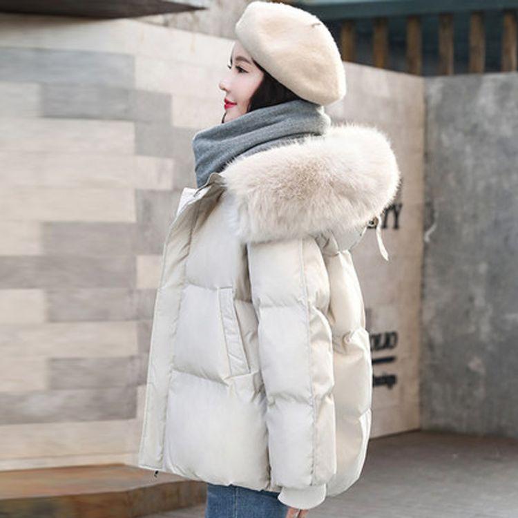 ins羽绒棉服女短款2019冬季新款品牌折扣女装韩版时尚150小个子棉袄东大门外套